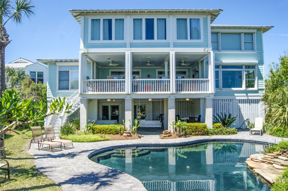 luxury tybee island vacation rental with pool